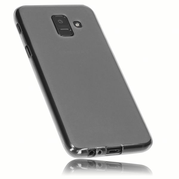 TPU Hülle schwarz transparent für Samsung Galaxy A6