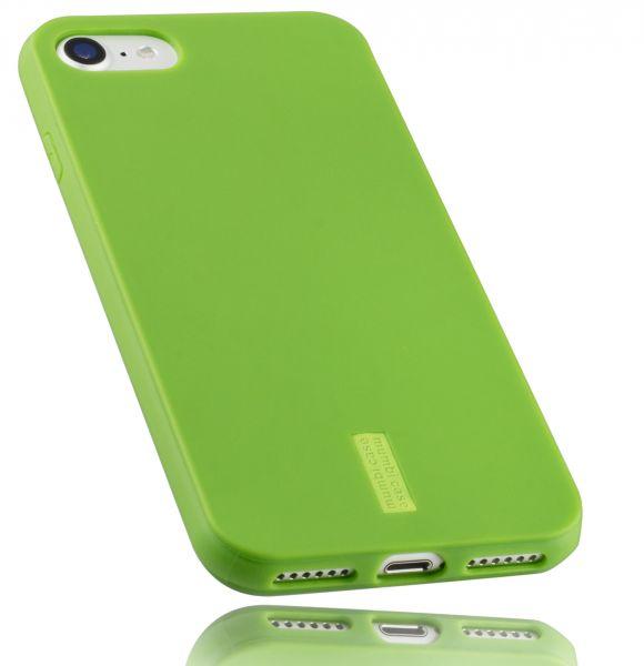 TPU Hülle grün mit Logo für iPhone 8 / 7