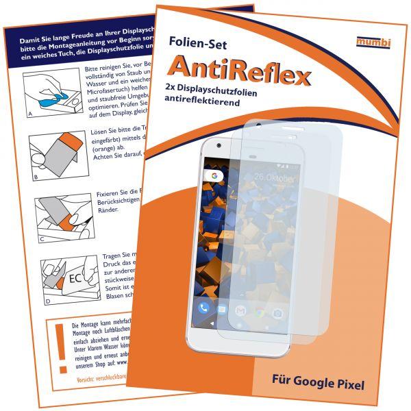 Displayschutzfolie 2 Stck. AntiReflex für Google Pixel