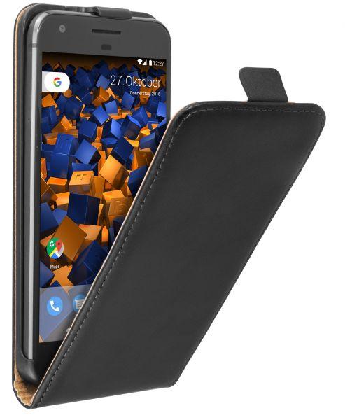 Flip Case Tasche schwarz für Google Pixel