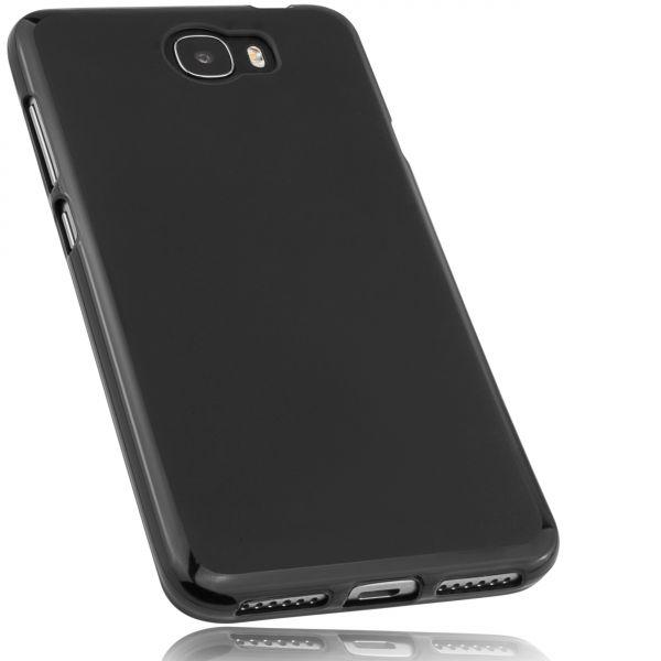 TPU Hülle schwarz für Huawei Y6 II compact