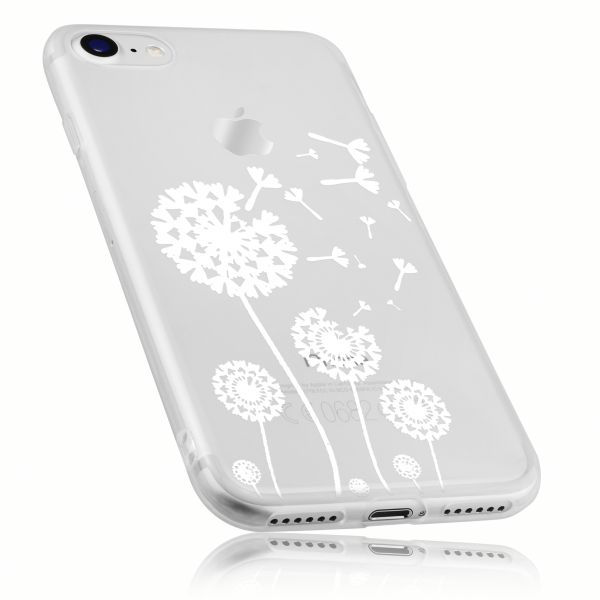 TPU Hülle transparent Motiv Pusteblume für Apple iPhone 8 / 7