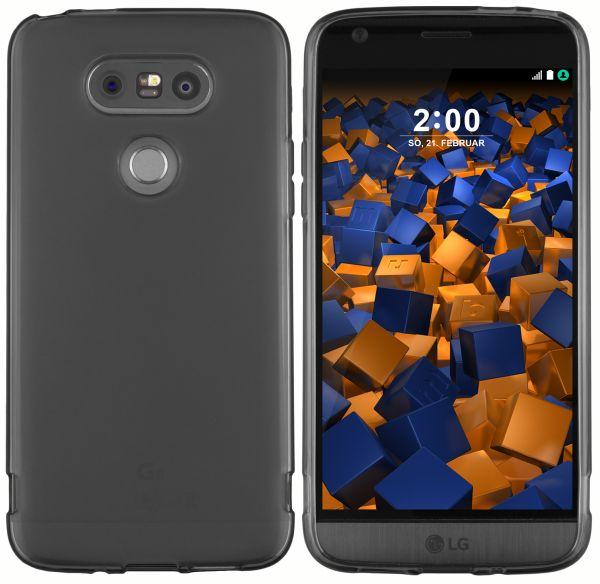 TPU Hülle schwarz transparent für LG G5