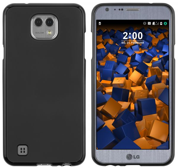 TPU Hülle schwarz für LG X Cam