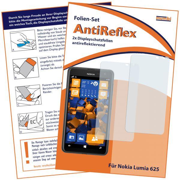 Displayschutzfolie 2 Stck. AntiReflex für Nokia Lumia 625
