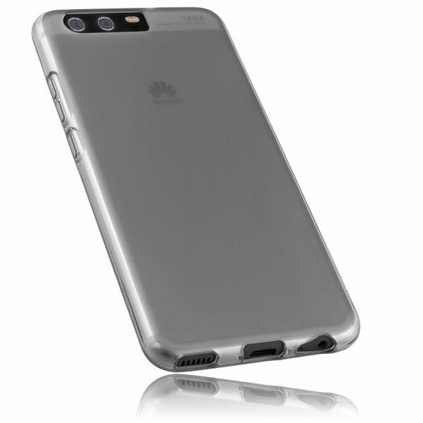 TPU Hülle schwarz transparent für Huawei P10