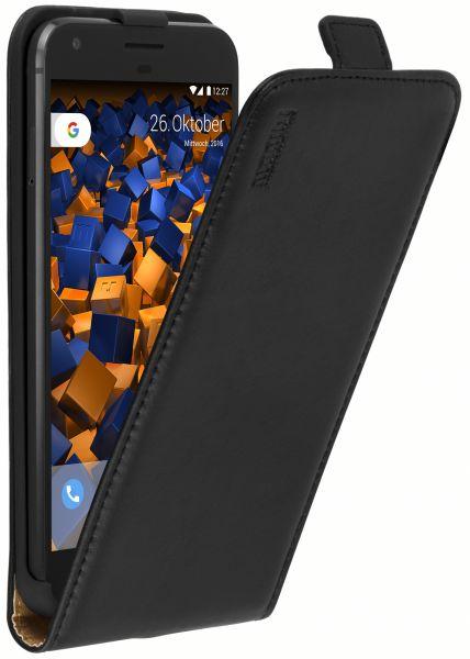 Flip Case Tasche schwarz für Google Pixel XL