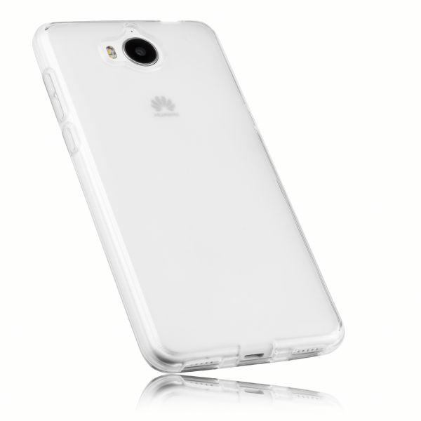 TPU Hülle weiß transparent für Huawei Y6 (2017)