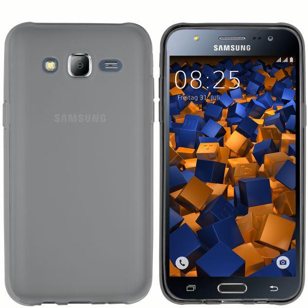TPU Hülle schwarz transparent für Samsung Galaxy J5 (2015)