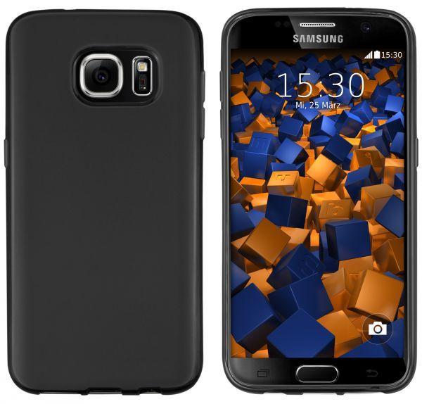 TPU Hülle schwarz für Samsung Galaxy S7