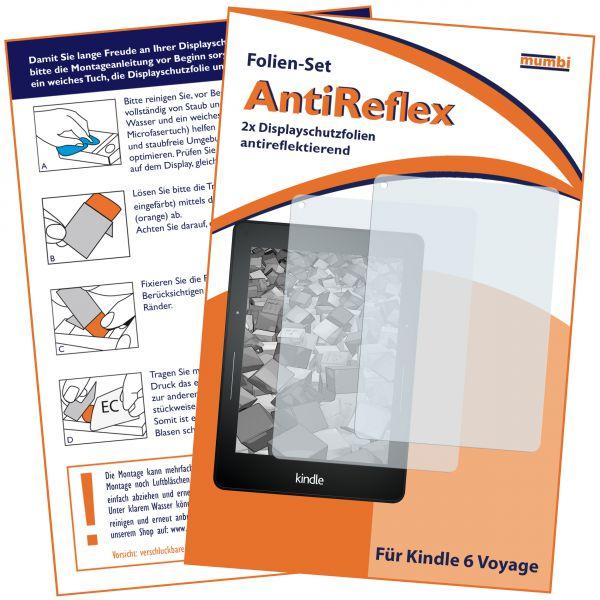 Displayschutzfolie 2 Stck. AntiReflex für Amazon Kindle Voyage