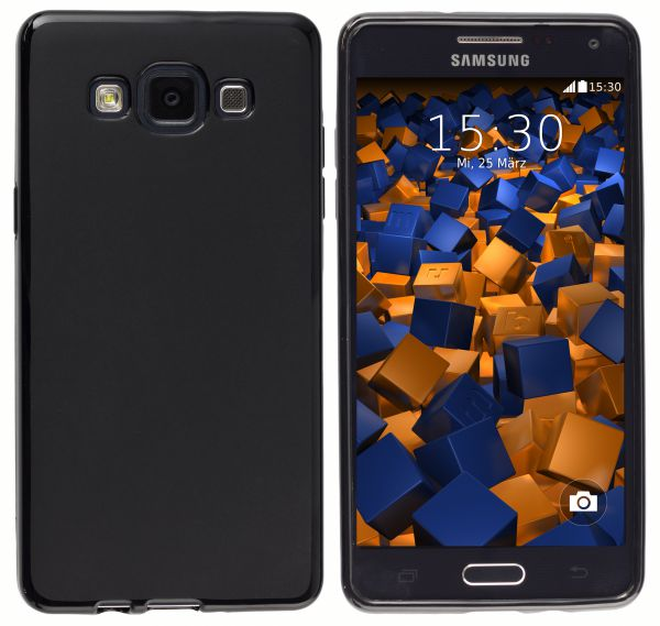 TPU Hülle schwarz für Samsung Galaxy A5 (2015)