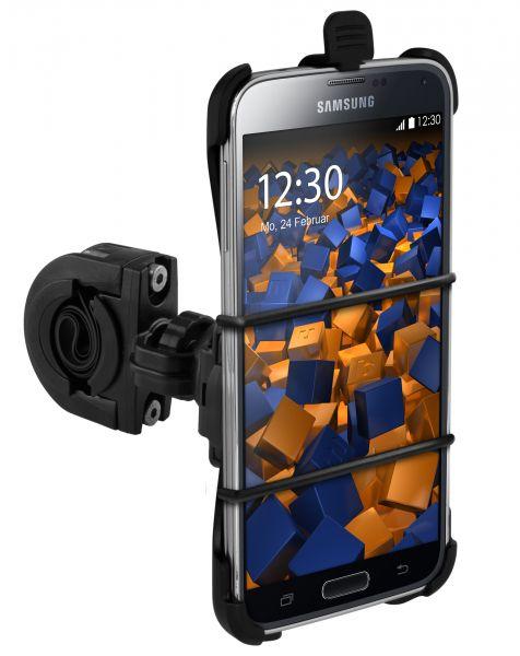 Fahrrad- Motorradhalterung TwoSave und Tischaufsteller für Samsung Galaxy S5 / S5 Neo