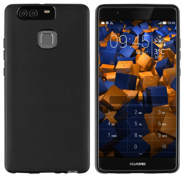 TPU Hülle schwarz für Huawei P9