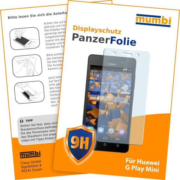 Panzerglasfolie Hartglas 9H für Huawei G Play mini / Honor 4C