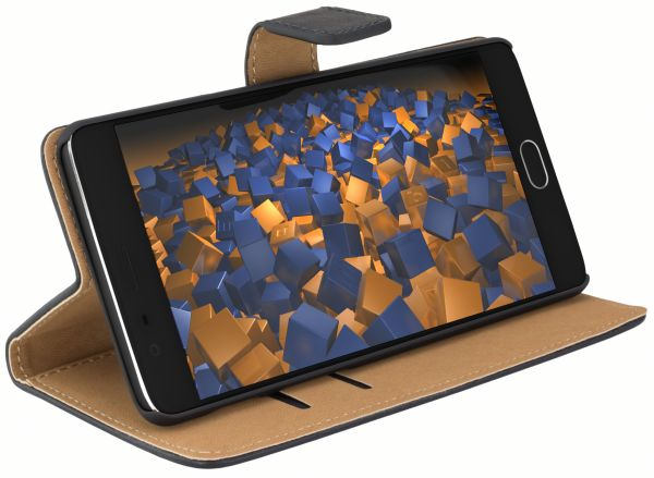 Bookstyle Tasche schwarz für OnePlus 3 / 3t