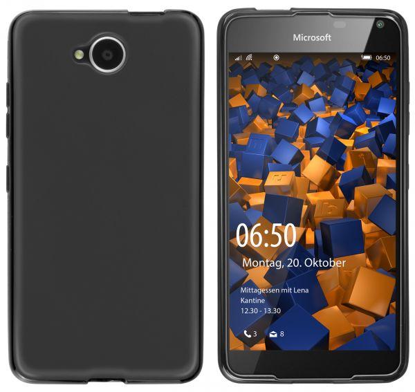 TPU Hülle schwarz für Microsoft Lumia 650