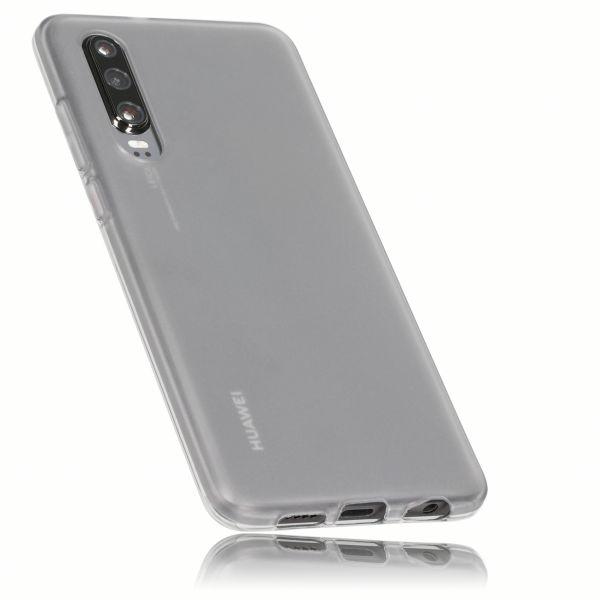 TPU Hülle schwarz transparent für Huawei P30