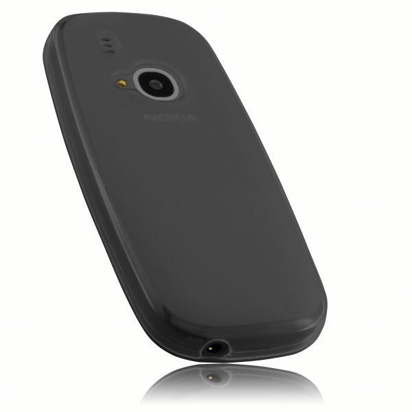 TPU Hülle schwarz transparent für Nokia 3310