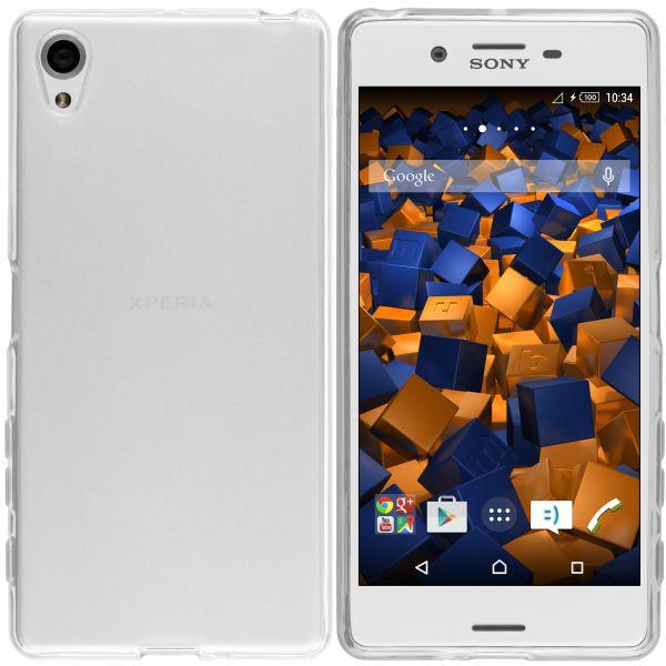 TPU Hülle weiß transparent für Sony Xperia X