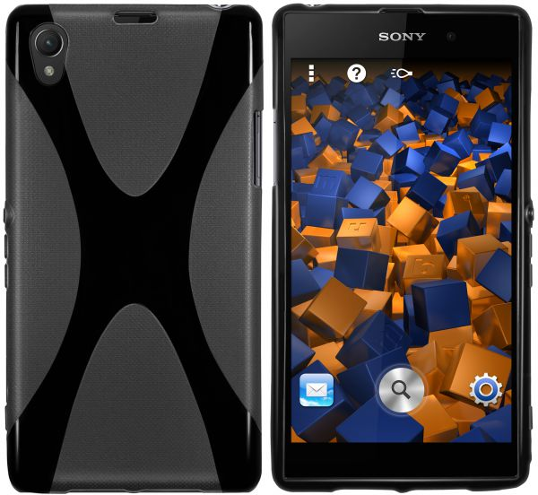 TPU Hülle X-Design schwarz für Sony Xperia Z1
