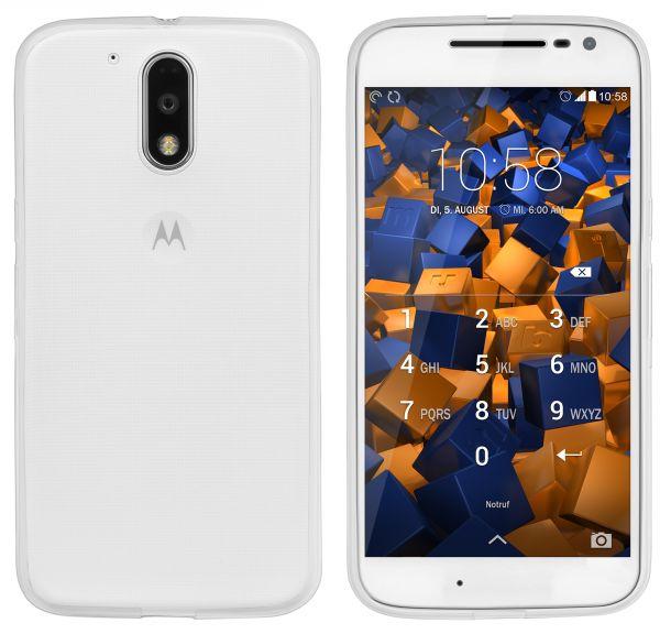 TPU Hülle Ultra Slim transparent für Motorola Moto G4 / G4 Plus