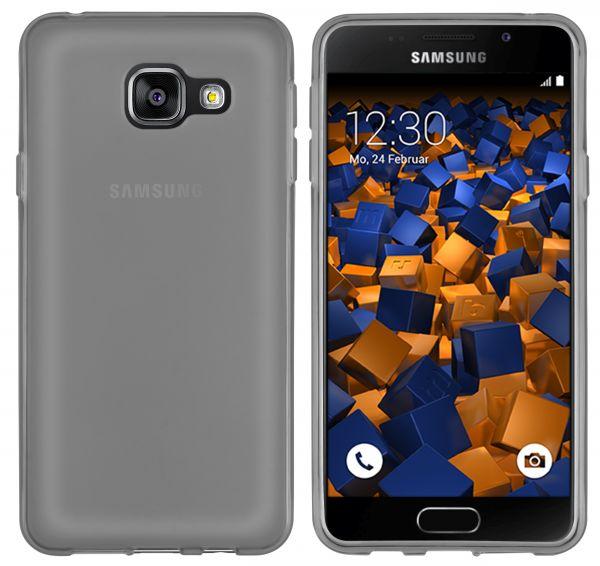 TPU Hülle schwarz transparent für Samsung Galaxy A3 (2016)