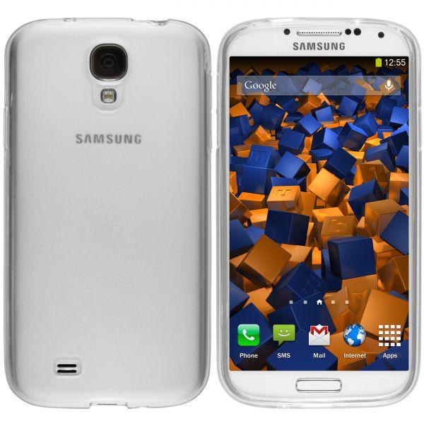 TPU Hülle weiß transparent für Samsung Galaxy S4
