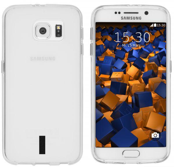 TPU Hülle weiß transparent für Samsung Galaxy S6 / S6 Duos