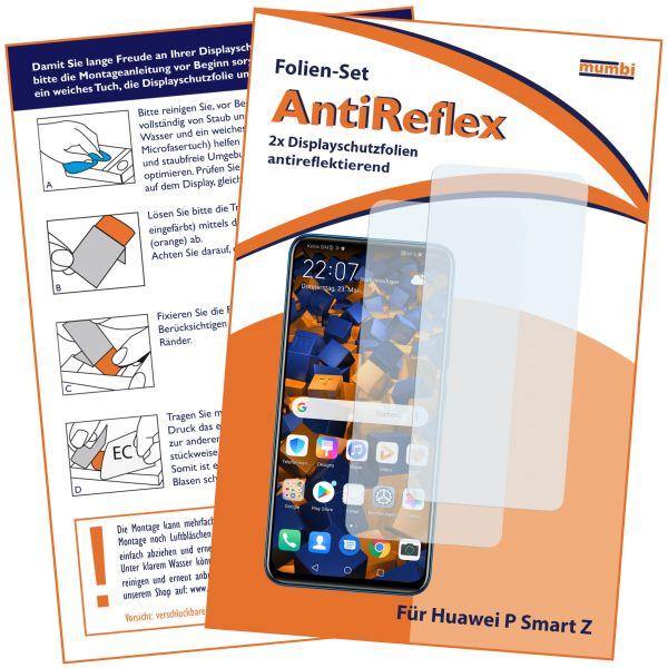 Displayschutzfolie 2 Stck. AntiReflex für Huawei P Smart Z