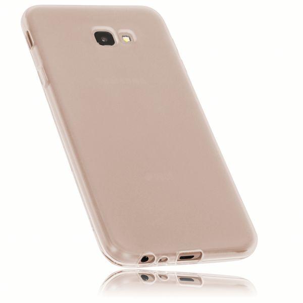 TPU Hülle weiß transparent für Samsung Galaxy J4 Plus