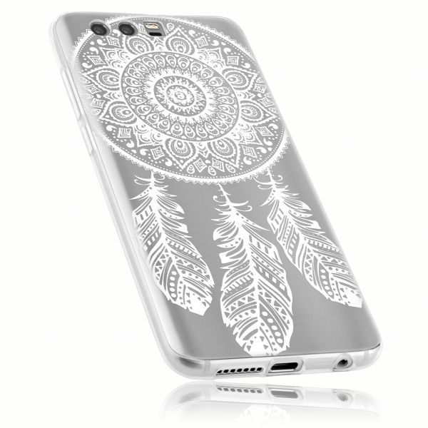 TPU Hülle Ultra Slim transparent Motiv Traumfänger für Huawei Honor 9