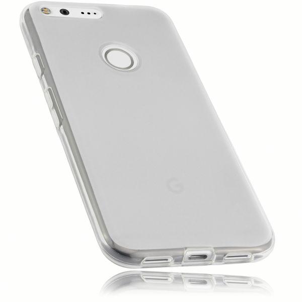 TPU Hülle weiß transparent für Google Pixel XL