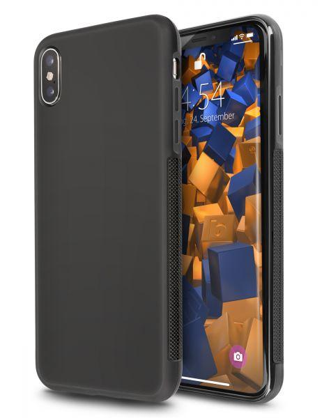 TPU Hülle double GRIP schwarz für Apple iPhone XS Max