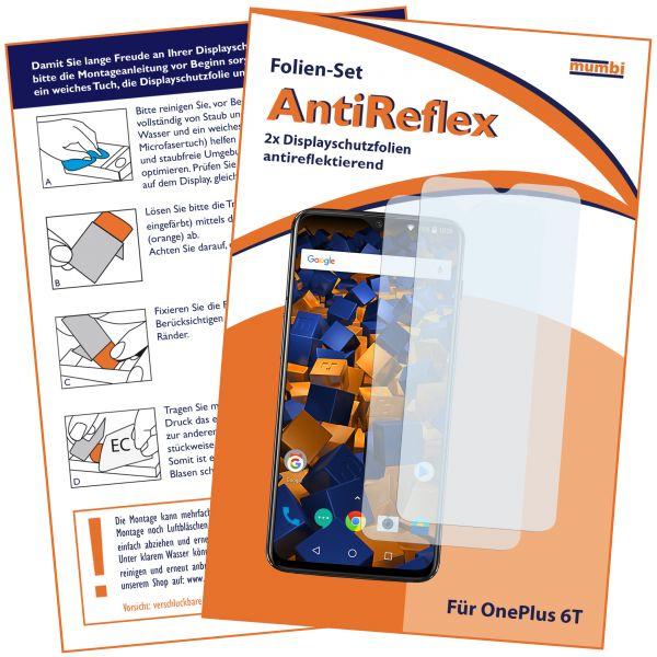 Displayschutzfolie 2 Stck. AntiReflex für OnePlus 6T