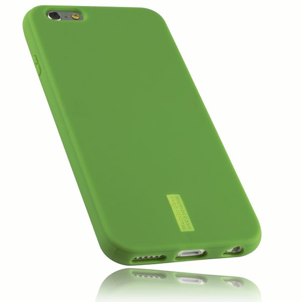 TPU Hülle grün mit Logo für Apple iPhone 6 / 6s