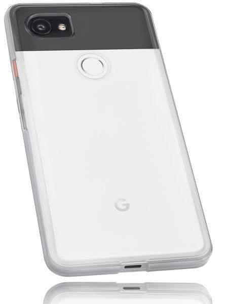 TPU Hülle weiß transparent für Google Pixel 2 XL