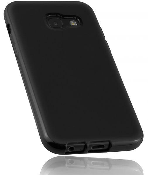 TPU Hülle schwarz für Samsung Galaxy A3 (2017)
