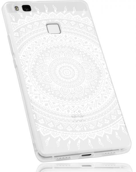 TPU Hülle transparent Motiv Mandala für Huawei P9 Lite