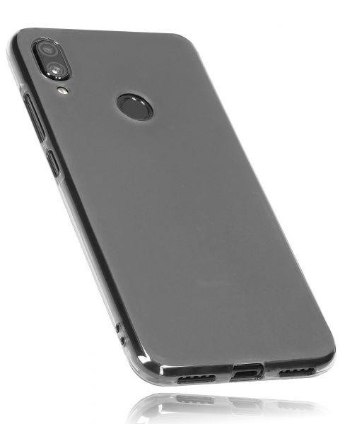 TPU Hülle schwarz transparent für Xiaomi Redmi Note 7