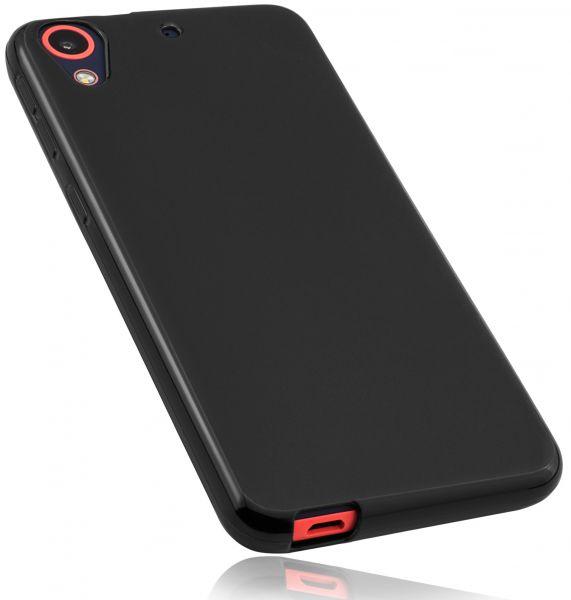 TPU Hülle schwarz für HTC Desire 628