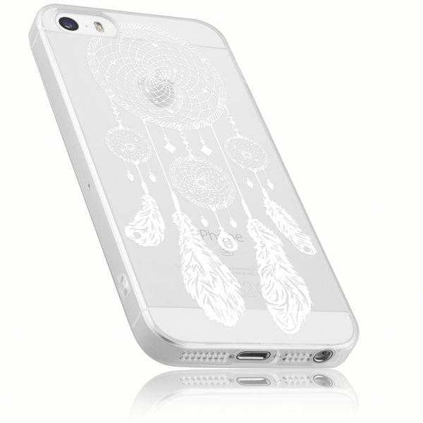 TPU Hülle transparent Motiv Traumfänger für Apple iPhone SE / 5 / 5s