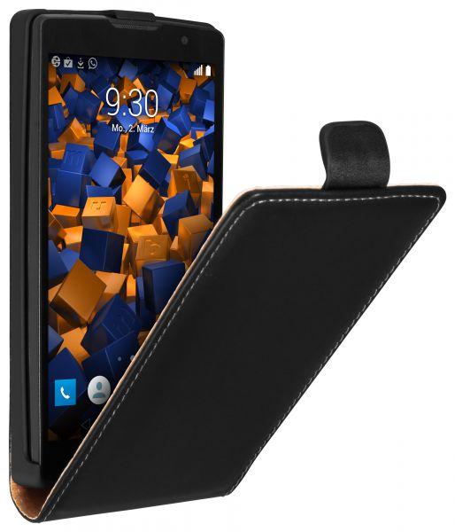Flip Case Tasche schwarz für LG Spirit 4G