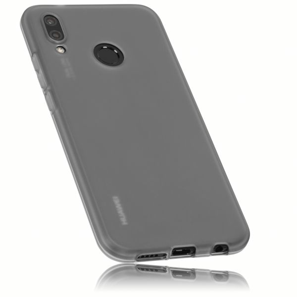 TPU Hülle schwarz transparent für Huawei P20 Lite