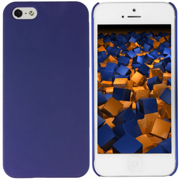 Hard Case Hülle blau für Apple iPhone SE / 5 / 5s