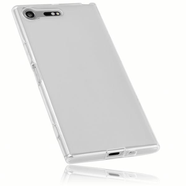 TPU Hülle weiß transparent für Sony Xperia XZ Premium