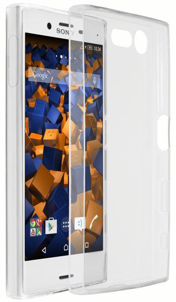 TPU Hülle Ultra Slim weiß transparent für Sony Xperia X Compact