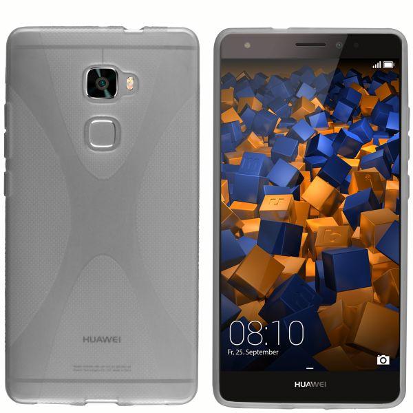 TPU Hülle X-Design schwarz transparent für Huawei Mate S