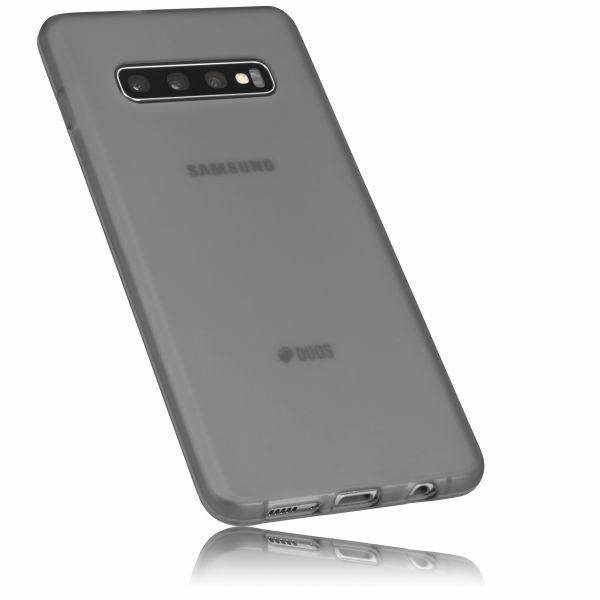 TPU Hülle schwarz transparent für Samsung Galaxy S10 Plus