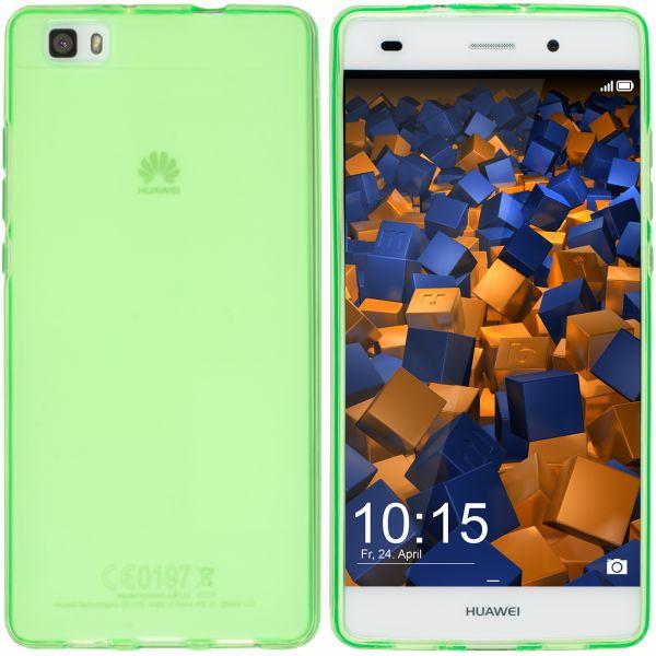 TPU Hülle grün transparent für Huawei P8 Lite (2015)